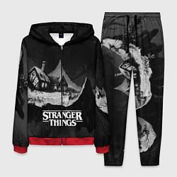 Костюм мужской Stranger Things: Black Hut цвета 3D-красный — фото 1