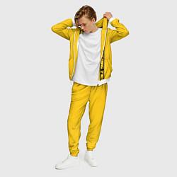 Костюм мужской ASAP Rocky: Yellow Testing цвета 3D-белый — фото 2