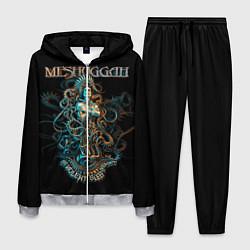 Костюм мужской Meshuggah: Violent Sleep цвета 3D-меланж — фото 1