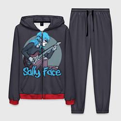 Костюм мужской Sally Face: Rock цвета 3D-красный — фото 1