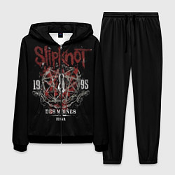 Костюм мужской Slipknot 1995 цвета 3D-черный — фото 1