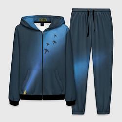 Костюм мужской Синий световой меч цвета 3D-черный — фото 1