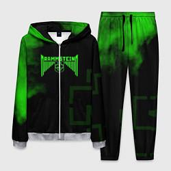 Костюм мужской Rammstein: Green Acid цвета 3D-меланж — фото 1