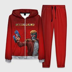 Костюм мужской Star-Lord цвета 3D-меланж — фото 1