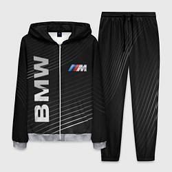 Костюм мужской BMW цвета 3D-меланж — фото 1