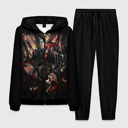 Костюм мужской Overlord 4 цвета 3D-черный — фото 1