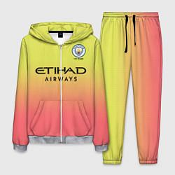 Костюм мужской Manchester City third 19-20 цвета 3D-меланж — фото 1