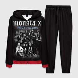 Костюм мужской Monsta X цвета 3D-красный — фото 1
