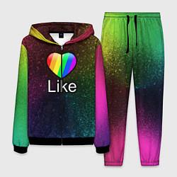 Костюм мужской Likee LIKE Video цвета 3D-черный — фото 1