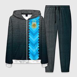 Костюм мужской Аргентина форма цвета 3D-белый — фото 1