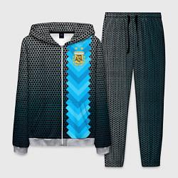 Костюм мужской Аргентина форма цвета 3D-меланж — фото 1