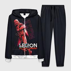 Костюм мужской Sith Legion цвета 3D-белый — фото 1
