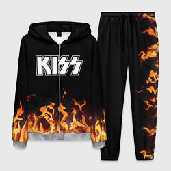 Костюм мужской Kiss: Hell Flame цвета 3D-меланж — фото 1