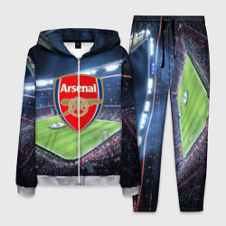 Костюм мужской FC Arsenal цвета 3D-меланж — фото 1