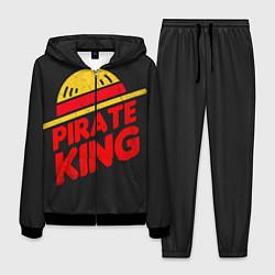 Костюм мужской One Piece Pirate King цвета 3D-черный — фото 1