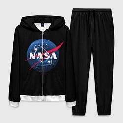 Костюм мужской NASA Black Hole цвета 3D-белый — фото 1