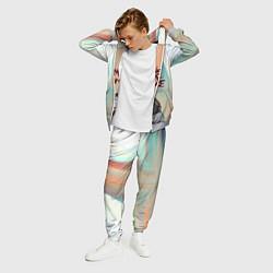 Костюм мужской Джерард Уэйн цвета 3D-меланж — фото 2