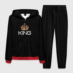 Костюм мужской Король цвета 3D-красный — фото 1
