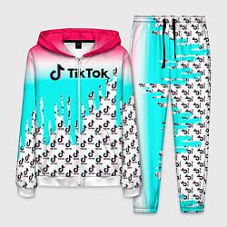 Костюм мужской TikTok цвета 3D-белый — фото 1