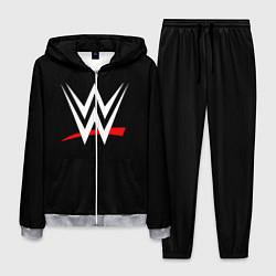 Костюм мужской WWE цвета 3D-меланж — фото 1