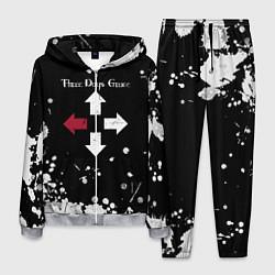 Костюм мужской Three Days Grace цвета 3D-меланж — фото 1