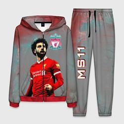 Костюм мужской Mohamed Salah цвета 3D-красный — фото 1