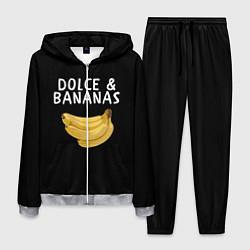 Костюм мужской Dolce and Bananas цвета 3D-меланж — фото 1
