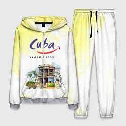 Костюм мужской Куба цвета 3D-меланж — фото 1