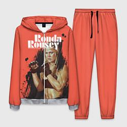 Костюм мужской Ronda Rousey цвета 3D-меланж — фото 1