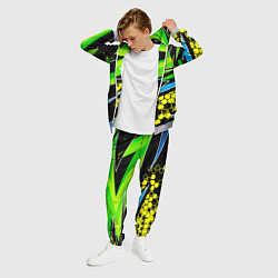 Костюм мужской Bona Fide Одежда для фитнеcа цвета 3D-меланж — фото 2