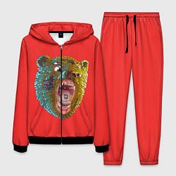 Костюм мужской Little Big: Bear цвета 3D-черный — фото 1