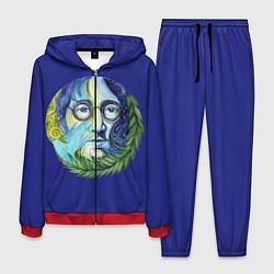 Костюм мужской John Lennon цвета 3D-красный — фото 1