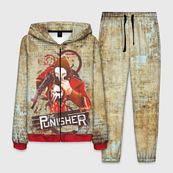 Костюм мужской The Punisher цвета 3D-красный — фото 1