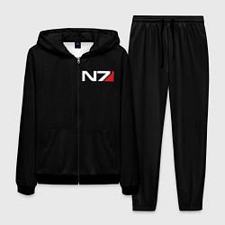 Костюм мужской MASS EFFECT N7 цвета 3D-черный — фото 1