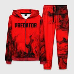 Костюм мужской PREDATOR цвета 3D-красный — фото 1
