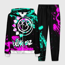 Костюм мужской Blink-182 6 цвета 3D-белый — фото 1