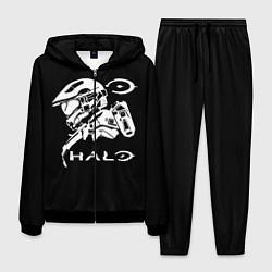 Костюм мужской HALO цвета 3D-черный — фото 1