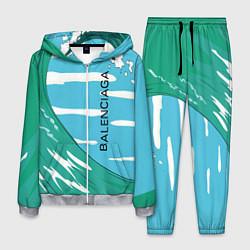 Костюм мужской Balenciaga цвета 3D-меланж — фото 1