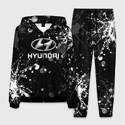 Костюм мужской HYUNDAI цвета 3D-черный — фото 1