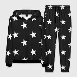 Костюм мужской Звёзды цвета 3D-черный — фото 1