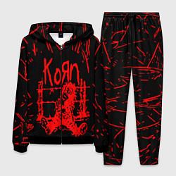 Костюм мужской Korn цвета 3D-черный — фото 1