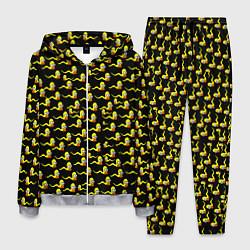 Костюм мужской Гомер цвета 3D-меланж — фото 1