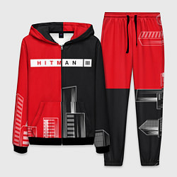 Костюм мужской Hitman III - Город цвета 3D-черный — фото 1