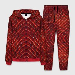 Костюм мужской Red Snake цвета 3D-красный — фото 1