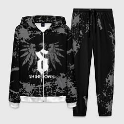Костюм мужской Shinedown цвета 3D-белый — фото 1