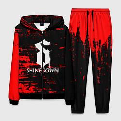 Костюм мужской Shinedown цвета 3D-черный — фото 1