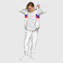 Костюм мужской СБОРНАЯ РОССИИ 2021 цвета 3D-меланж — фото 2