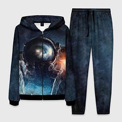 Костюм мужской Космонавт цвета 3D-черный — фото 1