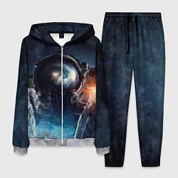 Костюм мужской Космонавт цвета 3D-меланж — фото 1