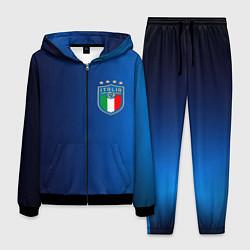 Костюм мужской Сборная Италии цвета 3D-черный — фото 1